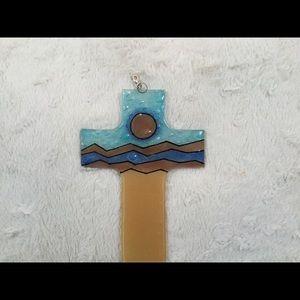 Gorgeous Stainglass cross